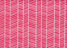Joel Dewberry True Colors Herringbone Cotton Pink
