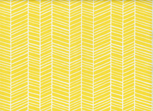 Joel Dewberry True Colors Herringbone Cotton Yellow