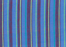 Kaffe Fassett Alternating Stripe Cotton Blue