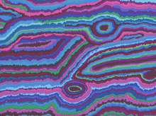 Kaffe Fassett Jupiter Cotton Blue