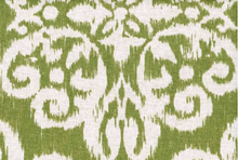 Lacefield Medallion Upholstery Fabric Celery