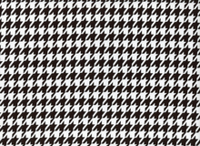 Laguna Jersey Black and White Houndstooth