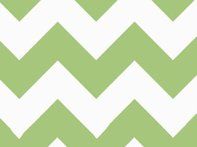 Large Chevron Cotton Green