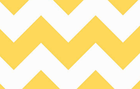 Large Chevron Cotton Fabric Yellow