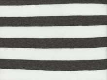 Lightweight Knit Stripe Grey