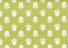 Lime Floral Japanese Import Fabric
