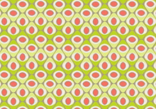 Lime Seeds Cotton Fabric by Art Gallery
