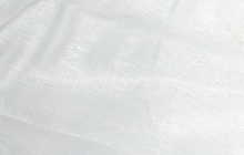 Linen Gauze Fabric White