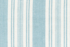 Linen Look Stripe Fabric Blue Glass