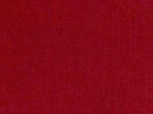 Linen Rayon Home Decor Fabric Red