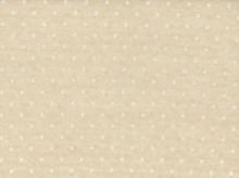 Linen Viscose Flocked Dot Ivory