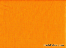 Linnen Broadcloth Tangerine Orange