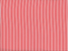 Little Stripe Cotton Red
