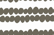 Lotta Jansdotter Bella Fabric Bubble Stripe Coal
