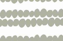 Lotta Jansdotter Bella Fabric Bubble Stripe Grey