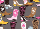 Luckie Charm Square Dance Cotton Grey