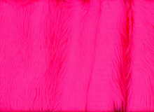Luxury Shag Faux Fur Neon Pink