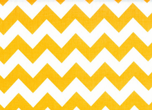 Medium Chevron Cotton Neon Orange