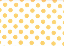 Medium Polka Dots Cotton Neon Orange