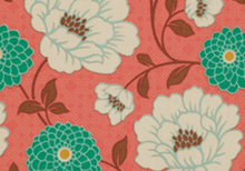 Medium Scale Floral Fabric