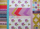 Melody Miller Patchwork Linen Purple
