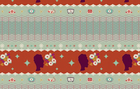 Melody Miller Ruby Star Spring 2012 Starlet Cotton Linen Fabric Aspic