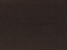Metallic Polka Dot Cotton Silver and Black