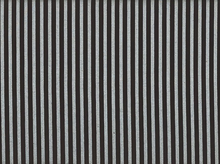 Metallic Stripe Cotton Black and Silver