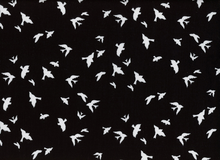 Michael Miller Birds in Flight Black
