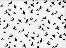 Michael Miller Birds in Flight White