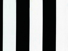 Michael Miller Large Stripe Cotton Black and White