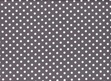 Michael Miller Dumb Dot Fabric Charcoal