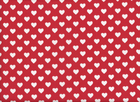 Michael Miller Hearts All Over Quilting Cotton Red