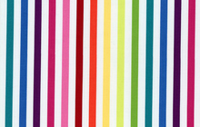 Michael Miller Rainbow Couture Stripe Cotton Multi