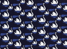 Michael Miller Swan Dive Cotton Navy
