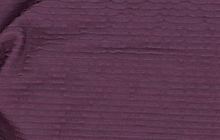 Micro Mini Ruffle Knit Fabric Purple