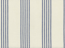 Moda Allover Stripe Toweling Cream and Blue
