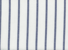Moda Allover Stripe Toweling White and Blue