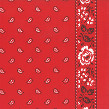 Moda Bandana Toweling Red
