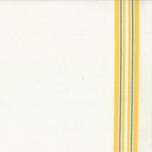 Moda Stripes Toweling White and Yellow