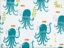 Monaluna Octopus Party Organic Cotton White
