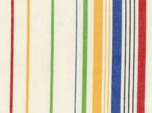 Multi Stripes Moda Toweling Fabric