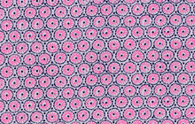 Museum Medallion Cotton Fabric Purple