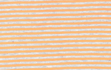 Neon Stripe Jersey Fabric Orange
