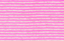 Neon Stripe Jersey Fabric Pink