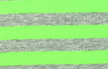 Neon Stripe Knit Green
