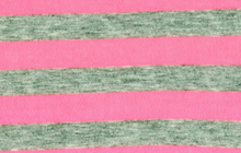 Neon Stripe Knit Pink