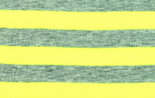 Neon Stripe Knit Yellow