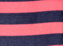 Neon Stripe Sweater Knit Navy