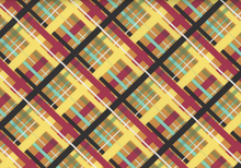 Nordika Tartan Spirit Cotton Golden